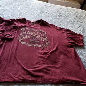 Men's 3XL Harley-Davidson t-shirt